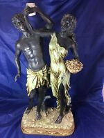 "Statue of Roman Man & Woman 21"""