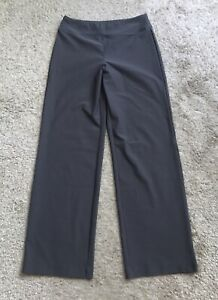 """ATIVA Womens Size Medium Gray Athletic Work Out Yoga Gym Pants 32"""" Inseam"""