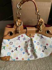 Louis Vuitton Ursula Handbag Monogram Multicolor 100% Guaranteed Authentic