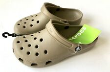 Crocs Classic Clogs Khaki Unisex - UK M6/W7 - US M7/W9 - EU 39-40 - New with Tag