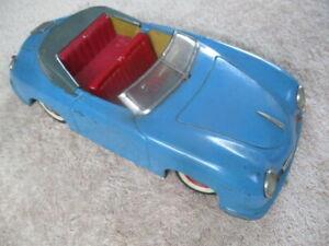 Distler Electromatic Porsche 356 Cabriolet Tinplate/Electric 1:15 (Germany) Blue