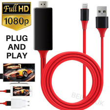1080P Lightning to HDMI Cable iPhone to Digital TV AV HDTV Monitor Adapter iPad