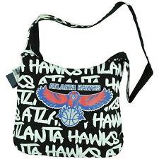 NBA Robin Ruth Atlanta Hawks Round Shoulder Hand Bag Cross Body Purse Women Blk