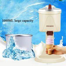 More details for 220v 1000ml auto mini household electric fruit diy ice cream maker machine gift