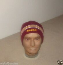 Washington Redskins Football NFL Uncuffed Red Winter Knit Hat Beanie Style New