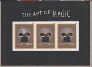 US RABBIT A HAT 2018 SCOTT #5306 THE ART OF MAGIC 3 MVF FOREVER STAMP MINI SHEET