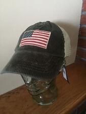 100% Authentic POLO RALPH LAUREN Corduroy Trucker Hat (NWT) ($49.50) OLIVE