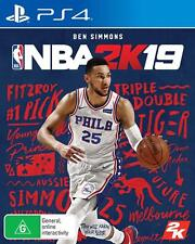 NBA 2k19 - Playstation 4 (PS4) Brand New Sealed