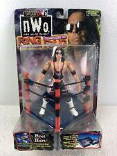 1999 ToyBiz WCW/NWO Wrestling Ring Fighters Bret Hart Wrestler Action Figure