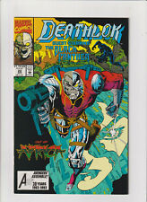 Deathlok Marvel Comics #22 VF/NM 9.0 Modern Age 1993 Black Panther app.