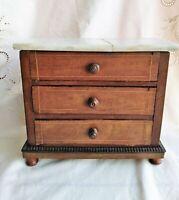 Commode meuble maison poupée travail de maîtrise dînette jouet anciens.....