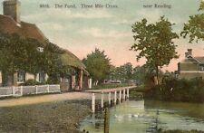 The Pond - THREE MILE CROSS - Near Reading - 1906 Original Postcard (2.95)
