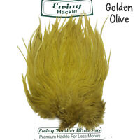 Ewing Rooster Saddles - Grade 2 Fly Tying Hackles Fishing Feathers