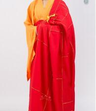 Shaolin Kung Fu Dress Zen Meditation Kesa Monk Buddhist Priest Cassock Robe