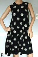 New NWT $2,995 Michael Kors Collection Crystal Embellished Trapeze Dress 0 2 XS