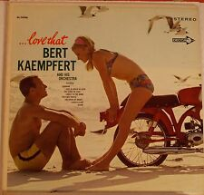 "Bert Kaempfert  ""...Love That"" Lp Record 1968 Capitol Club Edition EX. Condition"