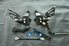 CNC Rearset Foot pegs Rear set For Ducati 749 999 748 916 996 998 S R All Black