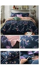 Queen size 4 Piece Floral Bed Sheet Set