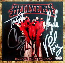 HELLYEAH Blood For Blood Signed By All 4 Members CD Booklet! MUDVAYNE PANTERA