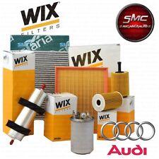 KIT TAGLIANDO 4 FILTRI WIX AUDI A3 (8P1) 2.0 TDI KW 103 anno 2005/06 - 2008/06