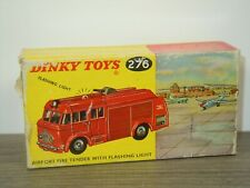 Original Empty Dinky Toys Box - Airport Fire Tender - 276 England *43132