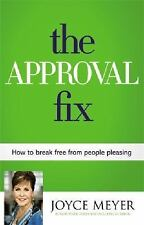 The Approval Fix a Christian Hardcover book by Joyce Meyer FREE SHIPPING