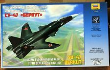 1/72 SU-47 BERKUT Russian Fifth-Generation Fighter Model Kit ZVEZDA 7215