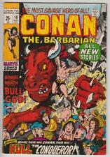 Conan The Barbarian #10 Barry Smith Marvel Comics 1971 Fine+ 6.5