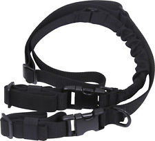 Black Deluxe Adjustable Tactical 2 Point Hunting Sling
