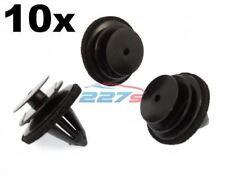 10x Tarjeta De La Puerta Interior Recortar Clips para caber & Nissan Qashqai J10 (2006-13)
