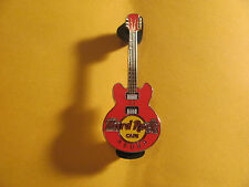 Hard Rock Cafe Aruba pin red guitar