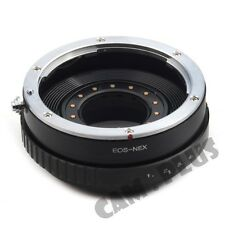 Camera Built-in Adjustable Aperture Adapter For Canon EF Lenst to Sony NEX 5T 7