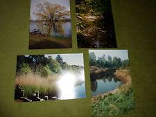 Echtphotos: 4 x Landschaftsbilder Alstergebiet, Hamburg-Poppenbüttel, 20 x 30 cm