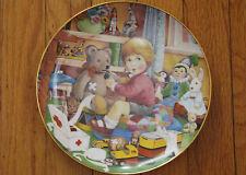"""Carol Lawson Franklin Porcelain Collector's Plate """"Little Doctor"""" 1984"""