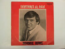 NORMIE ROWE EVERYTHING'S ALL RIGHT RARE OZ 60's BEAT LP