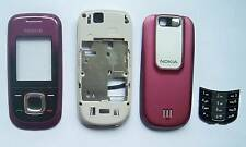Red purple fascia Housing Cover facia faceplate case Nokia 2680S 2680 Slide