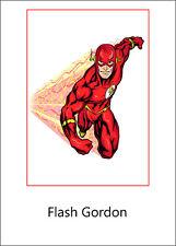 ADESIVO STICKER Serie Personaggi Fumetti Flash Gordon