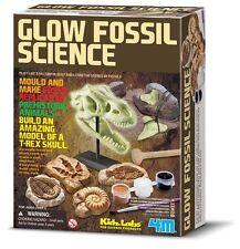 GLOW FOSSIL SCIENCE - DINOSAUR PREHISTORIC KIDZ LABS 4M SCIENCE & ACTIVITY KIT