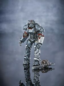Painted Toy Soldier 54mm Miniature T-60 power armor Fallout 4 Metal 1/32 Figure