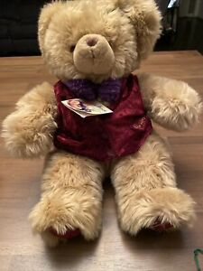 Harrods Christmas Bear 1996 Measuring 16 Inches If Laying Flat