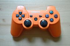 PS3 - Orig. Sony Playstation 3 Sixaxis Dualshock Controller Orange (gebr. Zust.)
