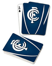 AFL Carlton Blues Aussie Rules Deck Playing Cards Poker Mascot Cards Xmas Gift