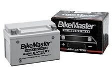 BikeMaster AGM Platinum II Battery 1989-90 Kawasaki ZX750 Ninja ZX-7 MS12-14L-A2