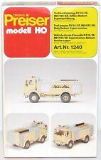 Preiser H0 1240 PUMPER 24/50 MB 1922/AK Bachert exportausf. NUOVO + conf. orig.