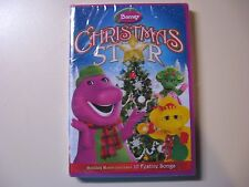 BARNEY CHRISTMAS STAR DVD - NEW AND IN THE ORIGINAL SEALED PACKAGE
