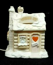 1996 Precious Moments Sugar Town WARMING HUT Lighted Building #192341 RETIRED