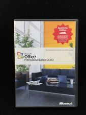 Microsoft Office Professional Edition 2003 Academic Edition