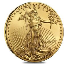2020 1/10 oz Gold American Eagle $5 Coin BU
