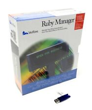 New VeriFone Ruby Manager v. 1.43 with Usb Hasp Key and Manual for Win Xp