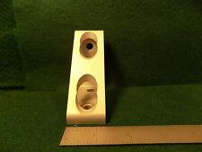 80//20 Aluminum 4 Hole Gusseted Corner Bracket 40 Series 40-4336 White C4-01